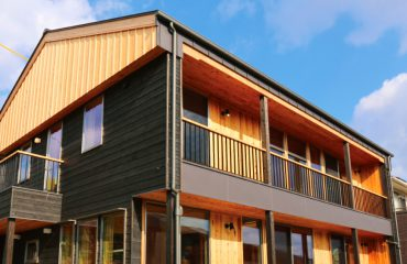 CLTを使用した日本初の住宅
