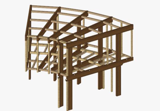 直角でない構造の設計
